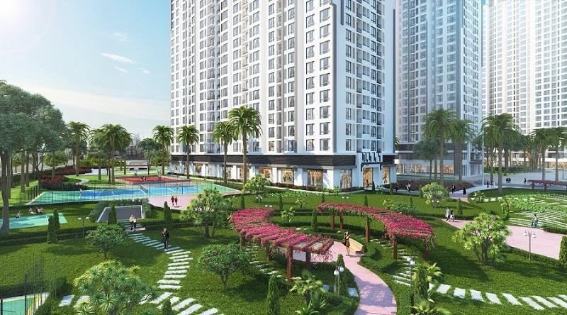 Chung cư Times City Park Hill - Khu cây xanh